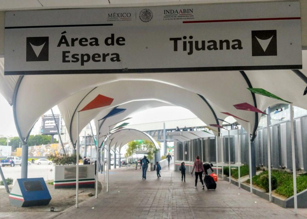 Border Crossing at San Ysidro, into Tijuana, Mexico